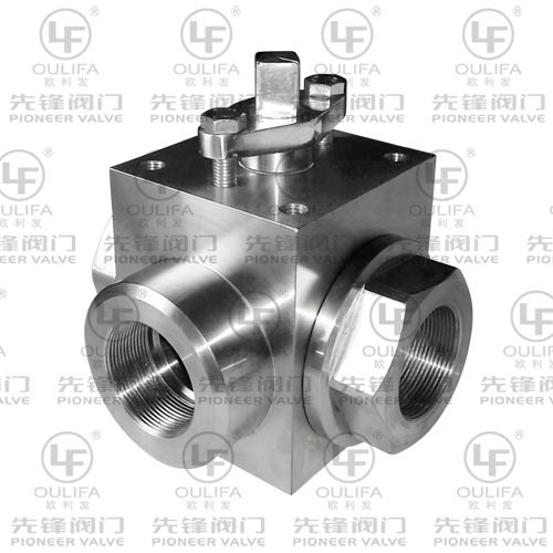 High Pressure 3-Way Ball Valve Q14F-PN160